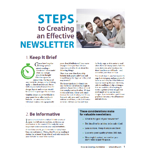 Steps to Creating an Effective Newsletter